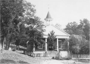 Lower Tuscarora Presbyterian Church [photo courtesy of church archives]
